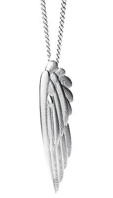 Karearea Wing Silver Pendant - Boh Runga | Shop New Zealand NZ$259.00