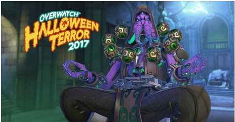 Overwatch Halloween Terror 2017 skins leak and they are amazing - Polygonclockmenumore-arrownoyespoly-lt-wire-logo : Zenyatta, Mei and Symmetra are getting new legendaries