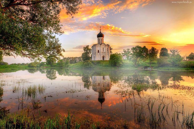 Cerkiew, Opieki, Matki, Bożej, Na Rzece, Nerl, Włodzimierz
