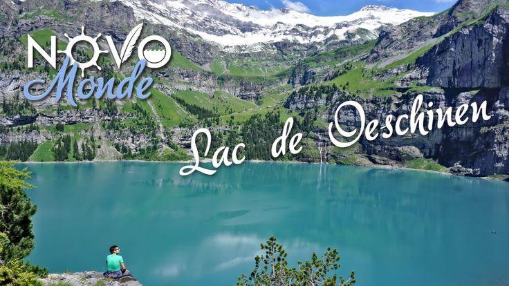 Rando en Suisse / le lac d'Oeschinen