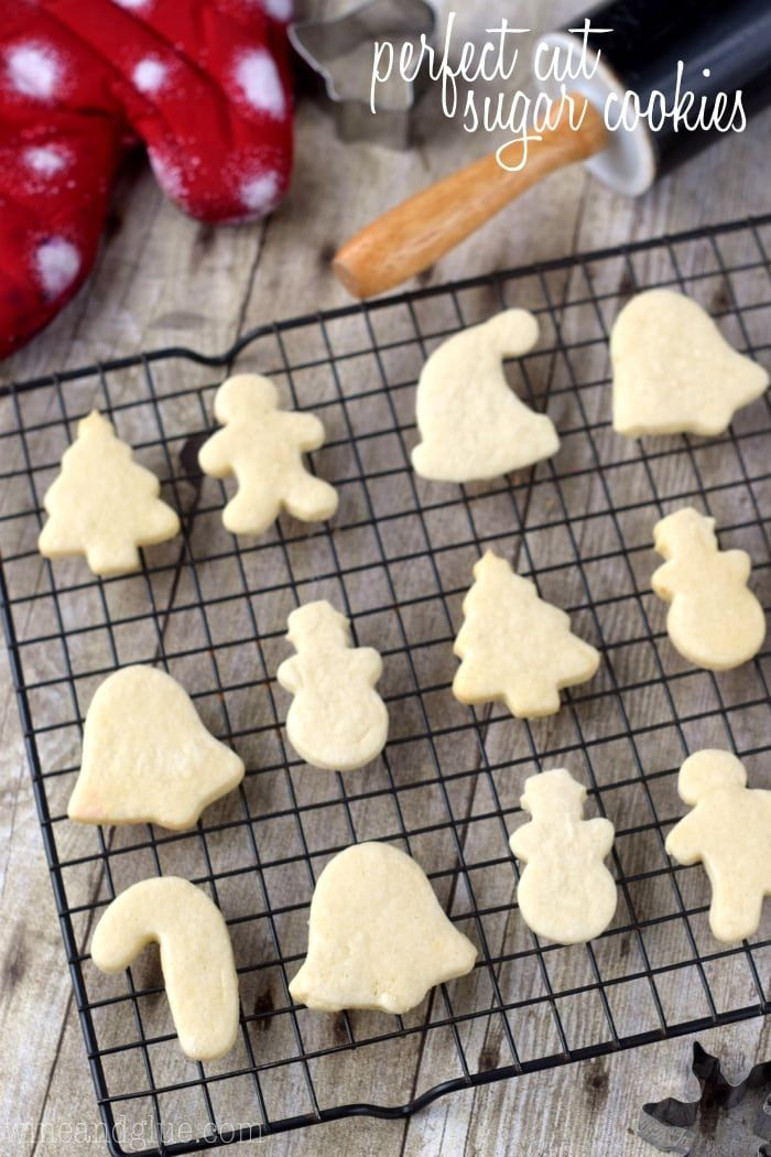 These Perfect Cut Sugar Cookies Are Soft Hold Their Shape And Are