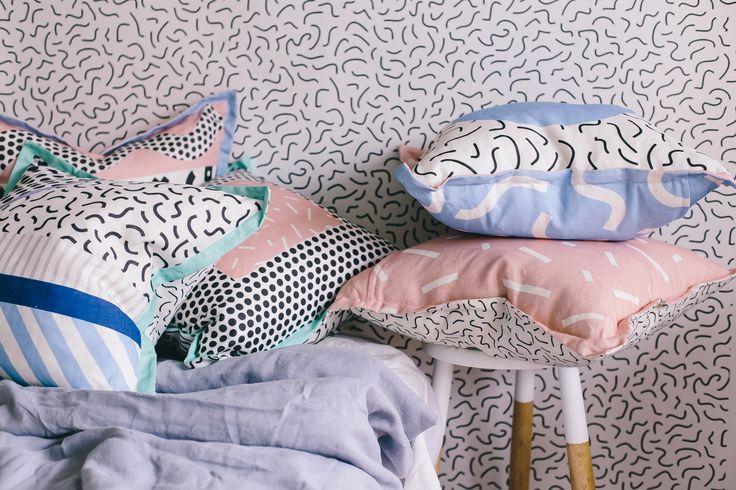 Memphis cushions