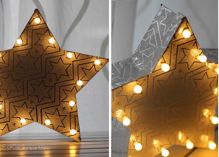 EsKa Kreativ: Christmas Lights DIY
