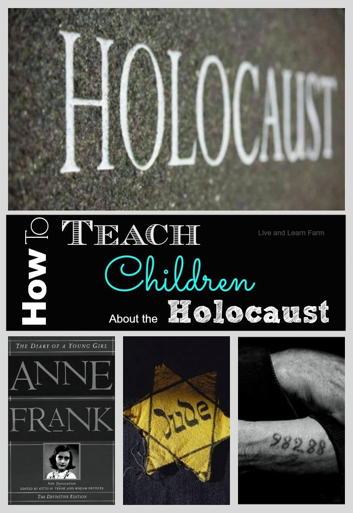 How to Teach Children About the Holocaust | Live and Learn Farm
