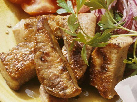Gebratene Leber ist ein Rezept mit frischen Zutaten aus der Kategorie Zwiebelgemüse. Probieren Sie dieses und weitere Rezepte von EAT SMARTER!
