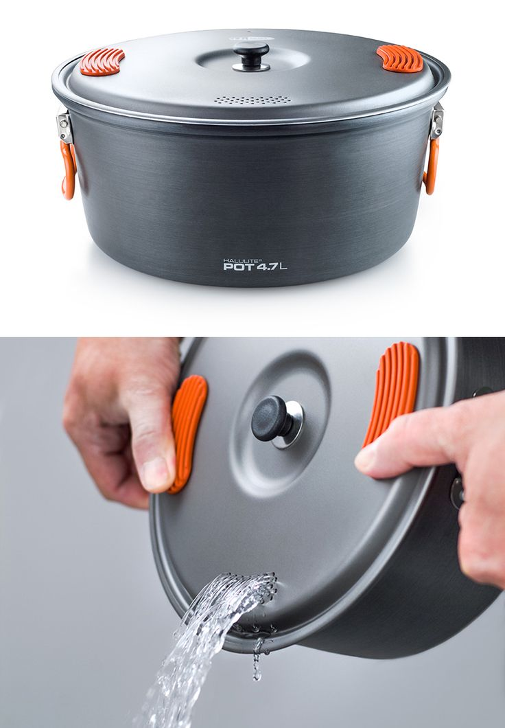 Clever Camping Cookware Designs #product_design