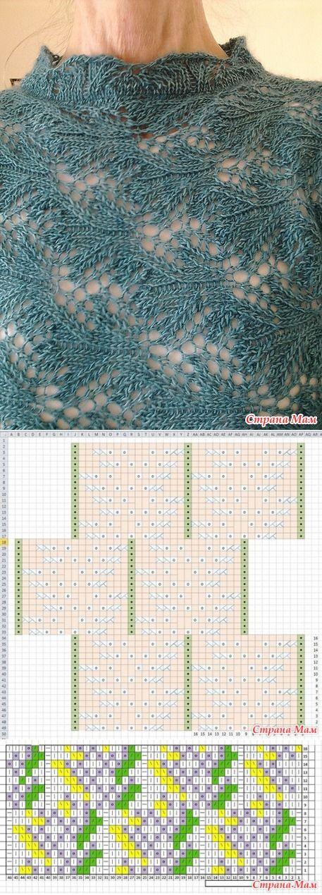 схемa к узору | вязание | Постила