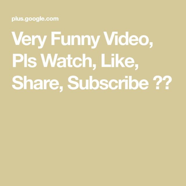 Very Funny Video, Pls Watch, Like, Share, Subscribe 🙏🏻