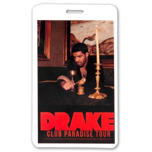 Check out Drake Tour Laminate on @Merchbar.