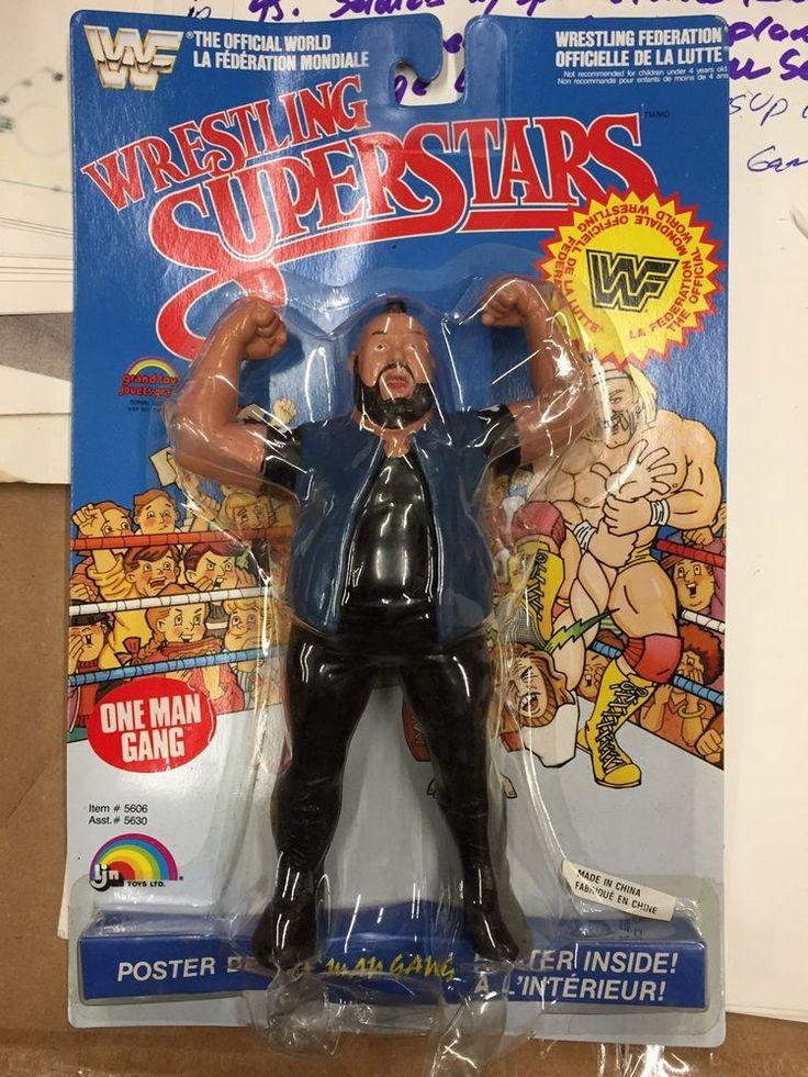 LJN WWF WRESTLING SUPERSTARS One Man Gang OMG SERIES 4 Bubble Dent NEW #LJN