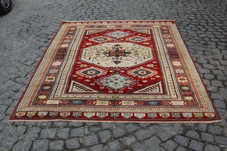 FREE SHIPPING! oriantel area rug, 5X7 area rug,red area rug,rugs online,area rug for sale,affordable area rugs, room size rugs,turkey carpet by TurkartRug on Etsy