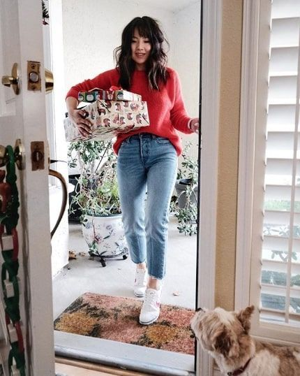 c3ba7d1e479d 15 Cool and Casual Christmas Party Outfits | Fall/Winter 2018 ...