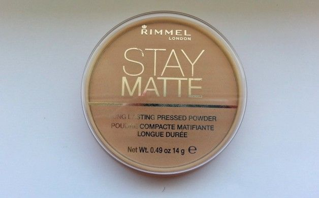 The Rimmel London Stay Matte Pressed Powder is the best mattifying powder in the  market.