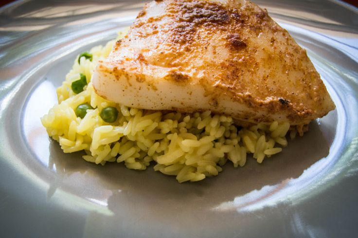 Grilled Cajun Calamari Steak with Aromatic Savoury Rice | Innes' Recipes