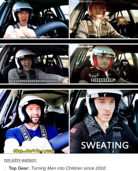 Top Gear - I love this show so much.