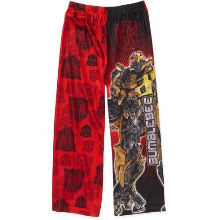 Transformers - Boys Pajama Pant, Red