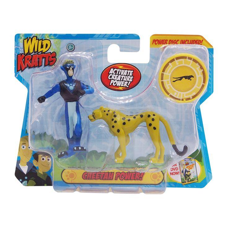The Official PBS KIDS Shop | Wild Kratts Creature Power 2 Pack - Cheetah Power Set