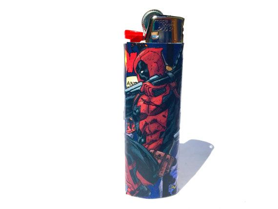 Deadpool Comic Book Lighter by RemixComicBooks on Etsy