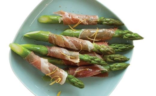 Lemon Dilly Dishes: Epicure's Prosciutto-wrapped Asparagus