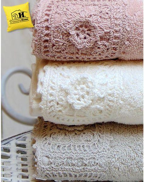 shabby chic crochet - Google'da Ara