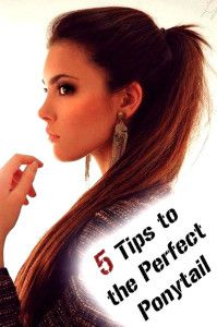 5 Tips to the Perfect Ponytail.