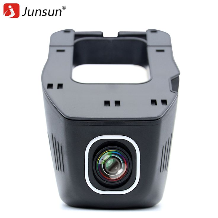 Junsun Voiture DVR Caméra Vidéo Enregistreur WiFi APP Novatek 96655 IMX 322 dvr FHD 1080 p Registrator de Vision Nocturne Dash Cam