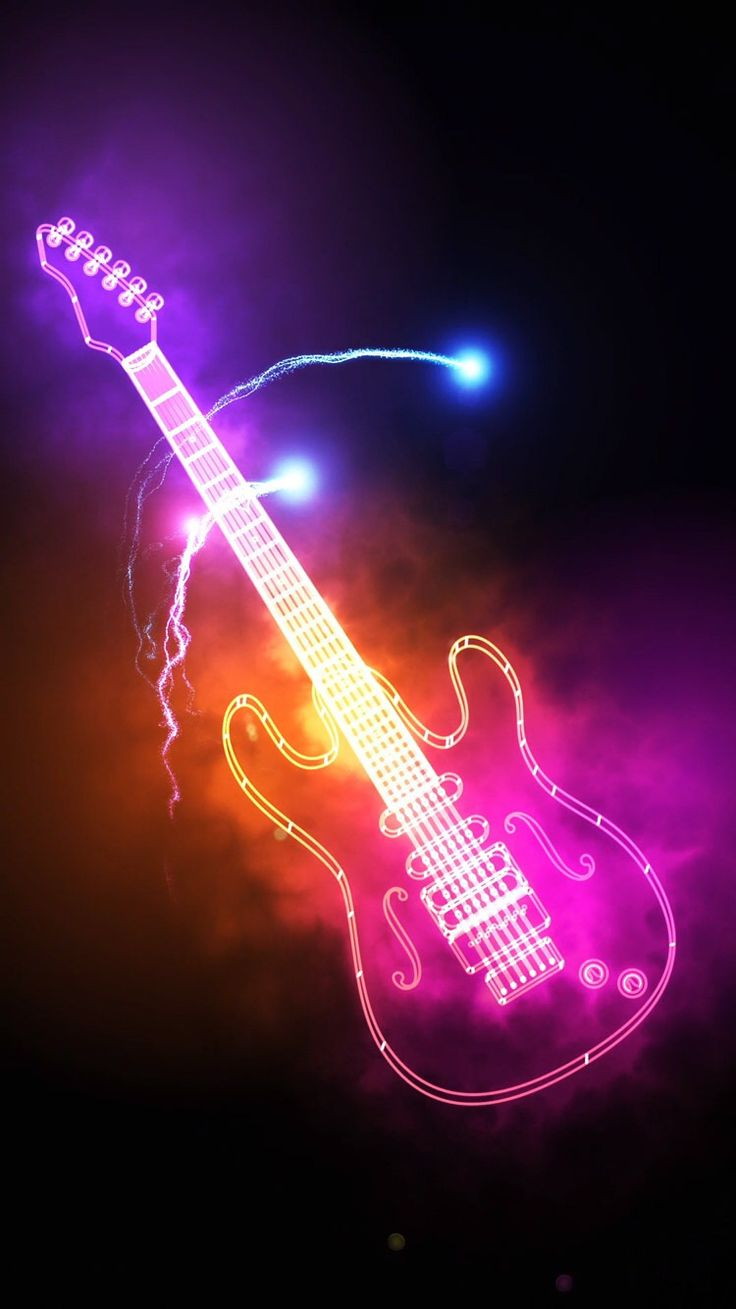 Pin by Caitlyn Hunt on Wallpapers | Music guitar art ...