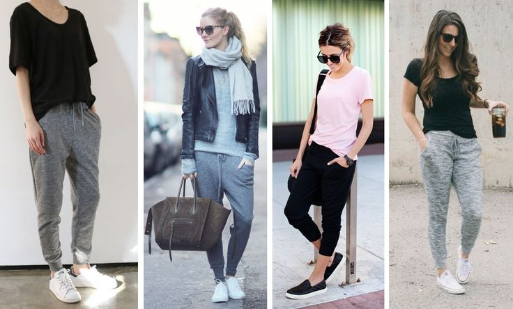 how to wear  joggers casual