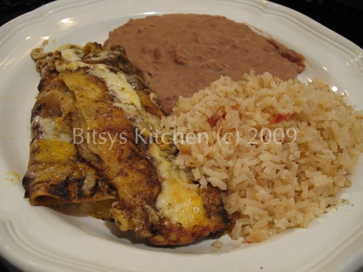Tex Mex Cheese And Onion Enchiladas With Chili Gravy Recipe