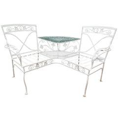 Salterini Double Chair Or Tete A Tete