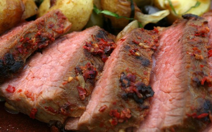 ... steak is the bomb sirloin steak with roasted potatoes and asparagus