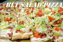 BLT Salad Pizza | Fabulessly Frugal: A Coupon Blog Sharing Gift Ideas, Amazon Deals, Printable Coupons, DIY, How to Extreme Coupon, and Make Ahead Meals