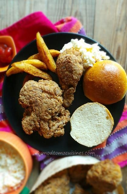 Kfc Style Fried Chicken Sumod Tomz Fusion Cuisines Recipes