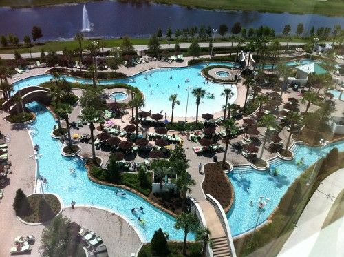 Luxury Resort and Walt Disney World - Hilton Orlando Bonnet Creek - amazing resort and cool lazy river!