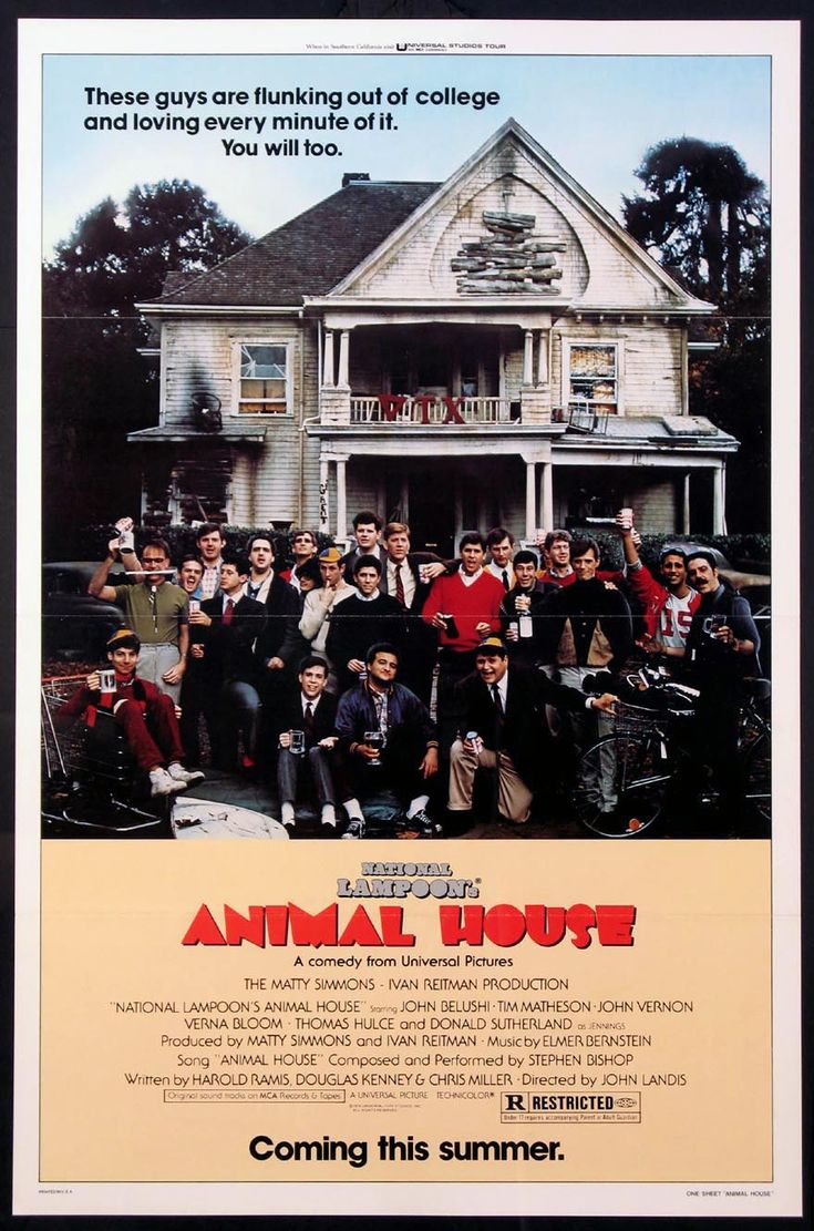 national lampoons animal house movie review National lampoon's animal house blu-ray (1978): starring tom hulce, stephen furst and mark metcalf unable to gain acceptance at the snootier fraternities they pledge, the deltas, a motley crew of.