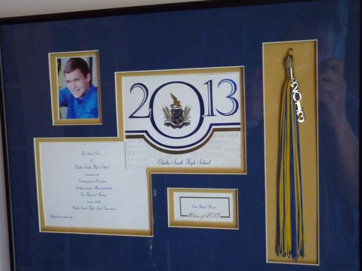 Graduation announcement frame