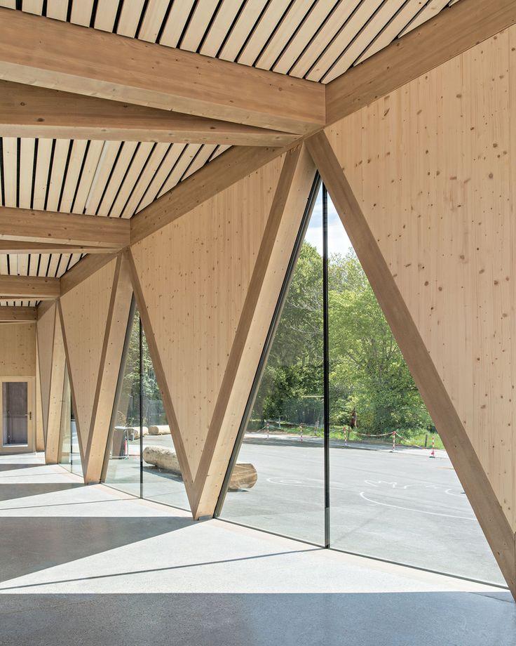 Galerie des öffentlichen Pavillons des neuen Zool…