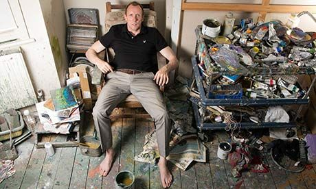 Lucian Freud's assistant, David Dawson, on life in the painter's studio