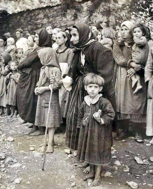 photo David Chim Seymour,Ορφανά του εμφυλίου 1948