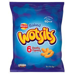 Walkers Wotsits Baked really cheesy multipack crisps