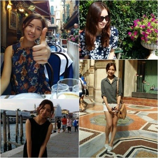 Shin Se Kyung reveals vacation photos from Italy