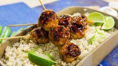 Yakitori Chicken Meatballs  9/9