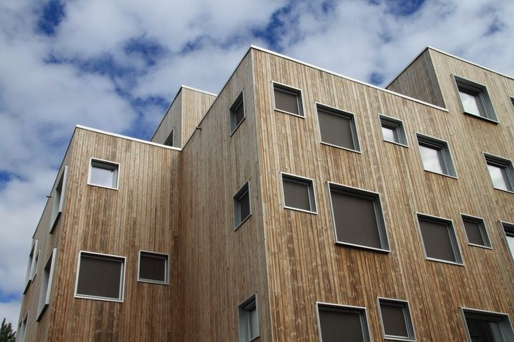 SOPP Lillehammer - 2016 Youth Olympic Games Student Housing | Architect Magazine | Kebony, Lillehammer, NORWAY, Community, Education, Sports, Architectural Detail, Kebony Scots Pine