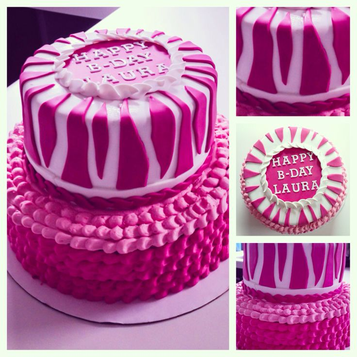 foto7daagse | Thema van dag 6: Lekker | #f7d #roze #taart #zelfgemaakt | Photography in 7 days | Theme of day 6: Nice | #pink #zebra #cake #madebymyself