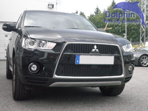 Dolphin DPS400 Fitted to Mitsubishi Outlander 2010 #parkingsensors #reversingsensors #parking #mitsubishi