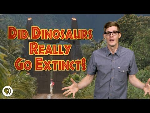 Did Dinosaurs Really Go Extinct? by jtotheizzoe: Here's why you don't need to go to Jurassic World to see some dinosaurs, even though hanging out with Chris Pratt would be pretty cool. Oh, and you'll never look at buffalo wings or Thanksgiving dinner the same way after this one.