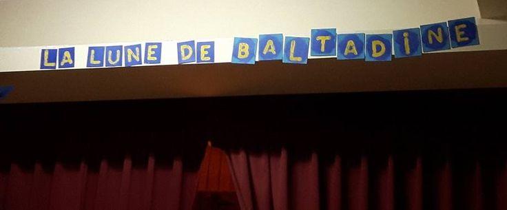 La lune de Baltadine à l'École Apostolique de Chicoutimi en avril 2016