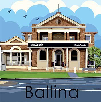 McGrath Estate Agents are located in one of Ballina's most recognisable old heritage buildings on the corner of River and Moon Streets.   Built for the Commercial Banking Company of Sydney in about 1910, it remained as a bank for 80 years and has been a real estate office since 1991.