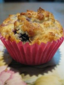 Mrs. P's Lemon and Blueberry muffin recipe!