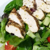 A salad from the Greek gods themselves. This delicious baked Grecian chicken salad will have your taste buds begging for more!